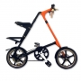 Strida LT New Black-Sunkist Matt